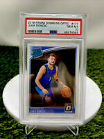 2018 Donruss Optic Luka Doncic Rated Rookie Card RC PSA 10 GEM MINT #177 Invest