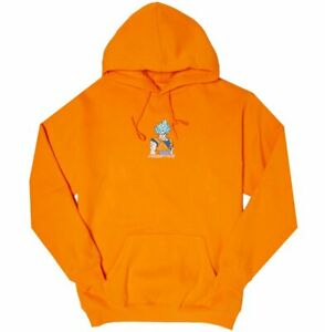Youth Primitive Dragonball Z Super Goku Hoodie Orange