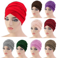 Ramadan Women Muslim Long Tail Scarf Hijab Hats Underscarf Turban Cap Head Wrap