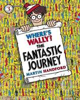 Where's Wally Book: Book 3: WHERE'S WALLY? THE FANTASTIC JOURNEY - Large - NEW