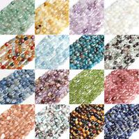 6-8mm Natural Irregular Apatite Kyanite Gemstone Chips Beads Jewelry Making 15''
