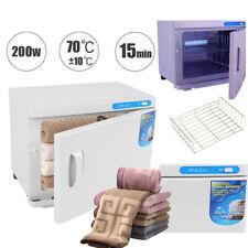 2 In 1 Towel Warmer Cabinet UV Heater Sterilizer Salon Spa Beauty Equipment 200W