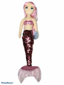 "Aurora New Sea Sparkles 18"" Sequin Sparkles Ava Mermaid"