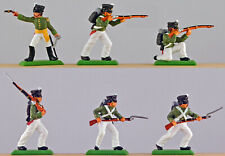 DSG Napoleonic Russian Line Infantry - 54mm Painted Plastic - A TSC Exclusive