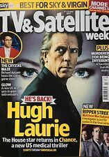 TV & Satellite Week Magazine Hugh Laurie Richard Ayoade Matthew Macfadyen NEW