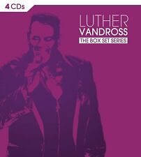 The Box Set Series (Collection, Best of) Luther Vandross (4CD, Epic) SEALED VG