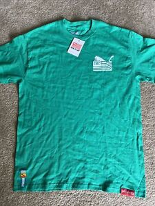 Nipsey Hussle Puma X TMC Marathon Clothing Hussle Tee Green Shirt Size Medium