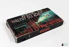 Nintendo Promo concentre video VHS-n64 cuánto 3-d opinas de?