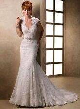 Maggie Sottero Wedding Dress CAROLINA New White Size 16 NEW!!