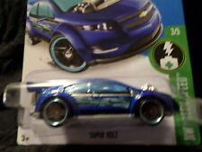Hw Hot Wheels 2016 Hw Green Speed #3/5 Super Volt Hotwheels Blue Vhtf