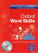 Oxford WORD SKILLS ADVANCED Book with CD-ROM by Ruth Gairns, Stuart Redman @NEW@
