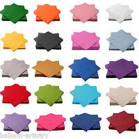 Wedding 33cm Luncheon Napkins 2ply Serviettes Tableware Party Supplies colours