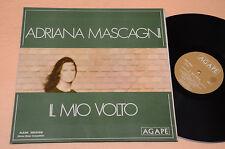 ADRIANA MASCAGNI LP IL MIO VOLTO 1°ST ORIG ANNI '70 GATEFOLD COVER
