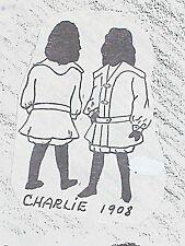 "Vintage Original Frank's Parisian Doll Boy Pattern Charlie sizes 9"" TO 29"""