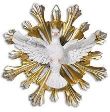"Confirmation Keepsake Gift Holy Spirit of God 7"" Wall Plaque Trinity Dove Statue"