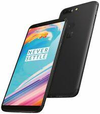 New listing OnePlus 5T Dual 64Gb + 6Gb Unlocked Smartphone Midnight Black Dual Rear Camera