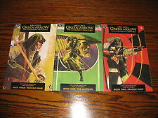 DC - GREEN ARROW Longbow Hunters 1 - 3  Complete Series!!  Glossy VF 1987