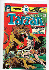 Tarzan #240 DC 1975 VF- 7.5 Joe Kubert cover.