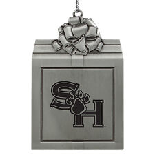 Sam Houston State University -Pewter Christmas Holiday Ornament-Silver