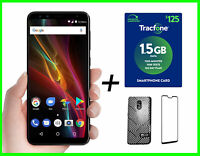 "BLU Pure View 32GB 3GB RAM 5.7""HD Prepaid 4G LTE +$125 Tracfone Year Plan &Gifts"