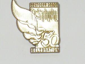 Kentucky Derby Festival 50th Celebration Gold Pin