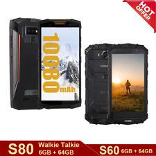 10080mAh/5580mAh DOOGEE S80/S60 Outdoor Smartphone Robustes Handy 6GB 64GB NFC