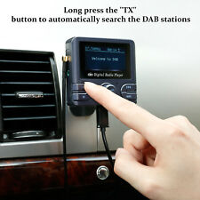 LCD Digital Bluetooth Car DAB Stereo Radio Adapter & FM Transmitter AUX USB TF