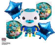 New Large Octonauts balloon Captain Barnacles 5pc foil balloons party decoration