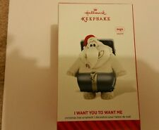 """HALLMARK ORNAMENT """"I WANT YOU TO WANT ME"""" 2014  PLAYS MUSIC  NEW IN BOX"""