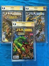 JLA/Titans #1 2 3 set - DC - CGC SS 9.8 - Signed by Phil Jimenez