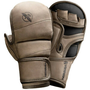 Hayabusa T3 LX 7oz Hybrid MMA Gloves Leather Sparring Mixed Martial Arts
