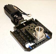 Ultra-Precision Z Axis Lift assembly Kla Tencor Machine Al364L Sanyo Denki Xsf78