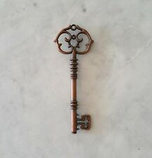 Bronze Key Pendant - Vintage - Steampunk - Gothic