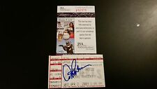 AROD ALEX RODRIGUEZ SIGNED #300TH HR HOME RUN TICKET STUB JSA COA