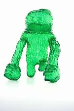 FOREST MONSTA CLEAR GREEN EDITION SOFUBI KAIJU VINYL FIGURE WAOTOYZ LULUBELL