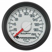 "AutoMeter Gauge, 2-1/16"" Pyro (EGT) 0-2,000 Degrees F. Factory Match - 8545"