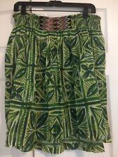 a2a557cd16 Anthropologie Women's VANESSA VIRGINIA Elastic Waist Cotton Skirt 8