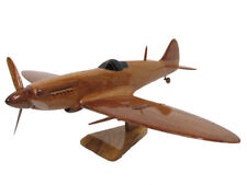 British Royal Air Force Supermarine Spitfire WWII Wood Wooden Airplane Model New