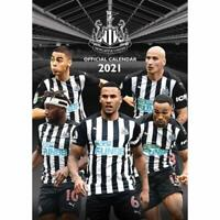 Newcastle United FC A3 Wall Format Calendar 2021 Official Licenced Product
