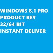 WINDOWS 8.1 PRO PROFESSIONAL RETAIL PRODUCT KEY 32/64 BIT ORIGINAL MULTILINGUE