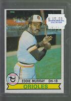 1979 TOPPS #640 EDDIE MURRAY BALTIMORE ORIOLES BK$12.00 H