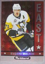 2017-18 Upper Deck Parkhurst East #E-7 Evgeni Malkin Pittsburgh Penguins