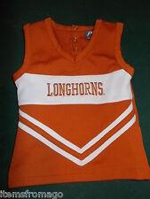Size 3T Toddler - UT Texas Longhorns Girls Cheerleading Uniform Top