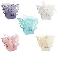 10pcs Wedding Favor Paper Candy Bags Boxes Chocolate Gift Box for Guest Baptism
