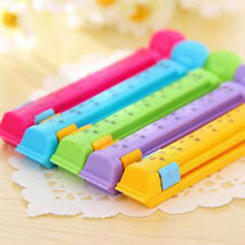 5Pcs Durable Creative Home Travel Snacks Food Plastic Bag Clip With Date Mark