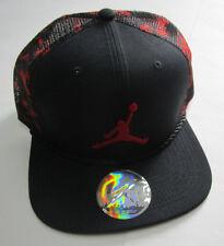 Men's Nike Air Jordan Jumpman 23 Snapback Hat, New Black Re Sport Adjustable Cap