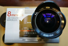 Samyang 8mm F2.8 Fisheye Samsung NX Monte Negro