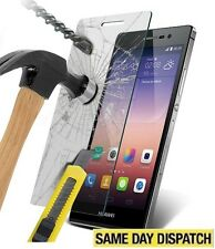 100% Genuine Tempered Glass Film Screen Protector for Huawei Ascend P8 &Package