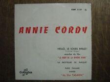 ANNIE CORDY EP FRANCE HELLO LE SOLEIL BRILLE