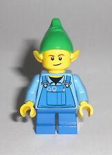 LEGO City - Weihnachts Elf 1 - Figur Minifig Santa Holiday Elb Weihnachten 10245